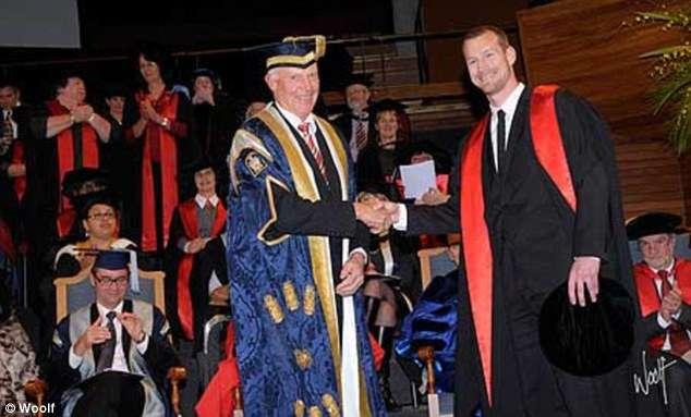 Paul Wood Graduation